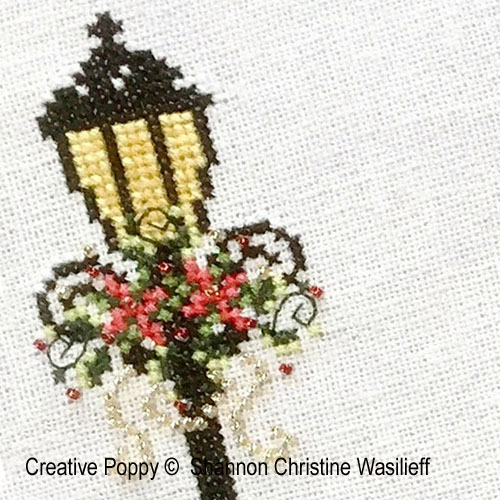 Victorian Lady cross stitch pattern by Shannon Christine Designs, zoom1