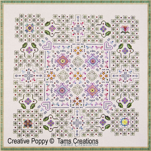 Summer Dreaming cross stitch pattern by Tam's Creations