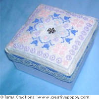 Wedding box set - cross stitch pattern - by Tam's Creations (zoom 1)