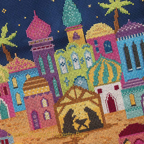 Bethlehem (Christmas nativity) cross stitch pattern by Tapestry Barn