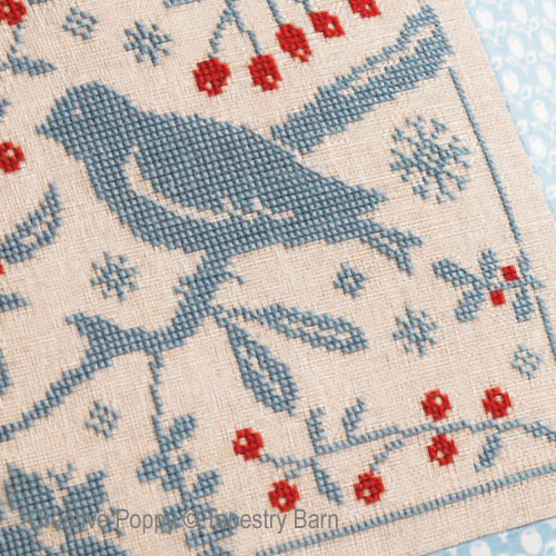 Christmas cross stitch patterns designed by <b>Tapestry Barn</b>