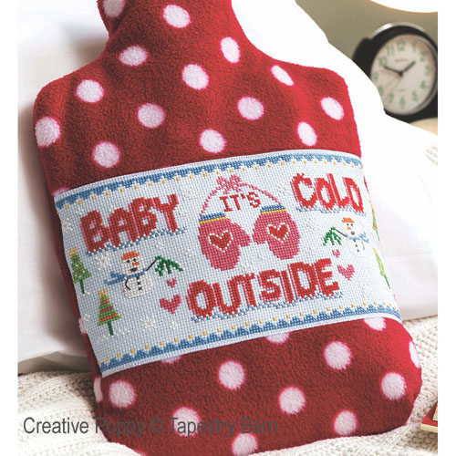 Cold Outside (Hottie cover) cross stitch pattern by Tapestry Barn