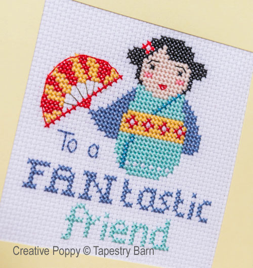Pun-tastic Greeting cards cross stitch pattern by Tapestry Barn, zoom2