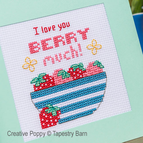 Pun-tastic Greeting cards cross stitch pattern by Tapestry Barn, zoom3
