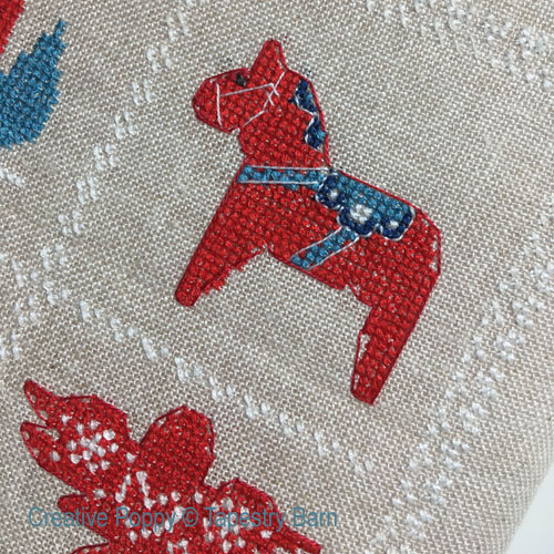 Scandinavian Christmas Sampler cross stitch pattern by Tapestry Barn