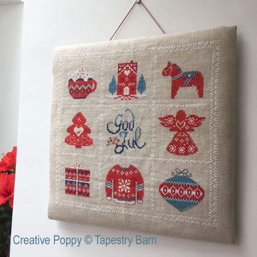 Scandinavian Christmas Sampler cross stitch pattern by Tapestry Barn