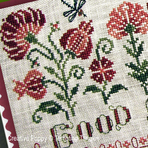 Tempting Tangles - Good morning zoom 1 (cross stitch chart)