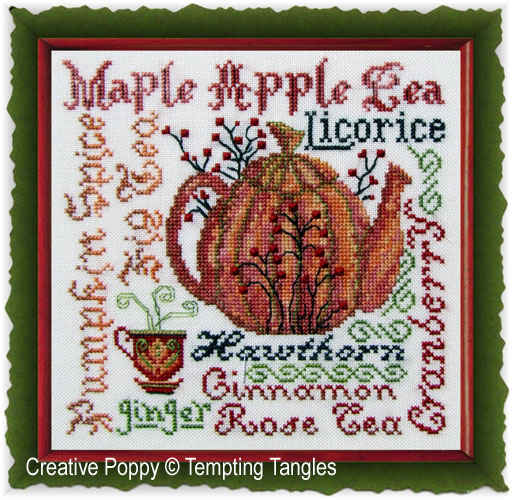 Tempting Tangles - Harvest Brew (cross stitch chart)
