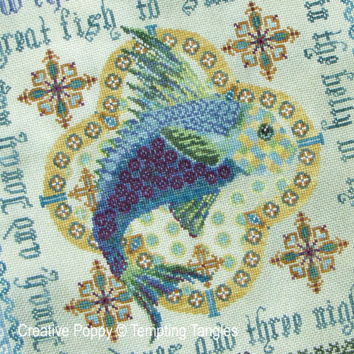 Fish & Sealife patterns to cross stitch
