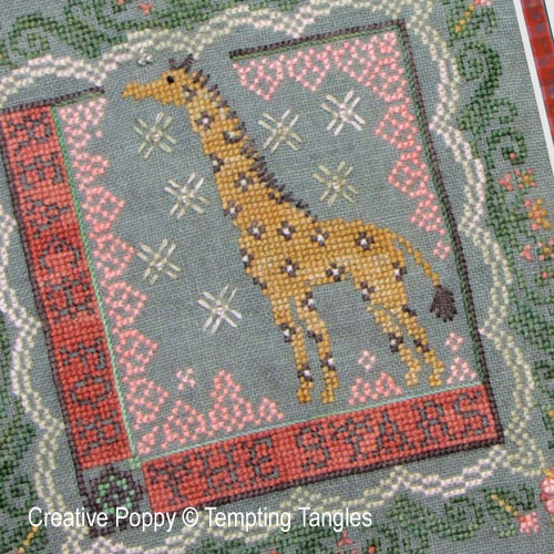 Reach for the stars cross stitch pattern by Tempting Tangles, zoom 1