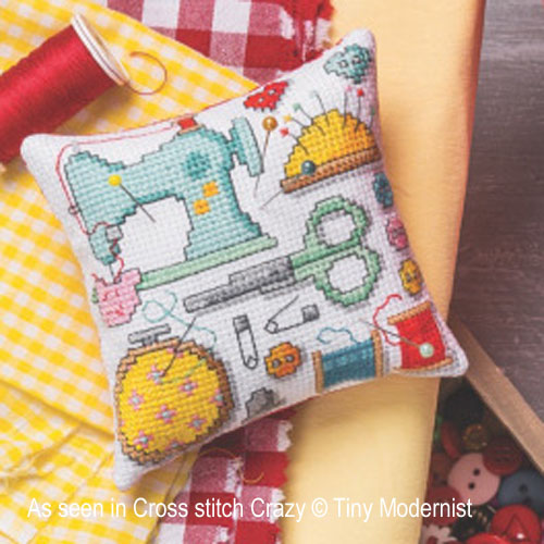 Sewing Room Motifs cross stitch pattern by Tiny Modernist, zoom 1